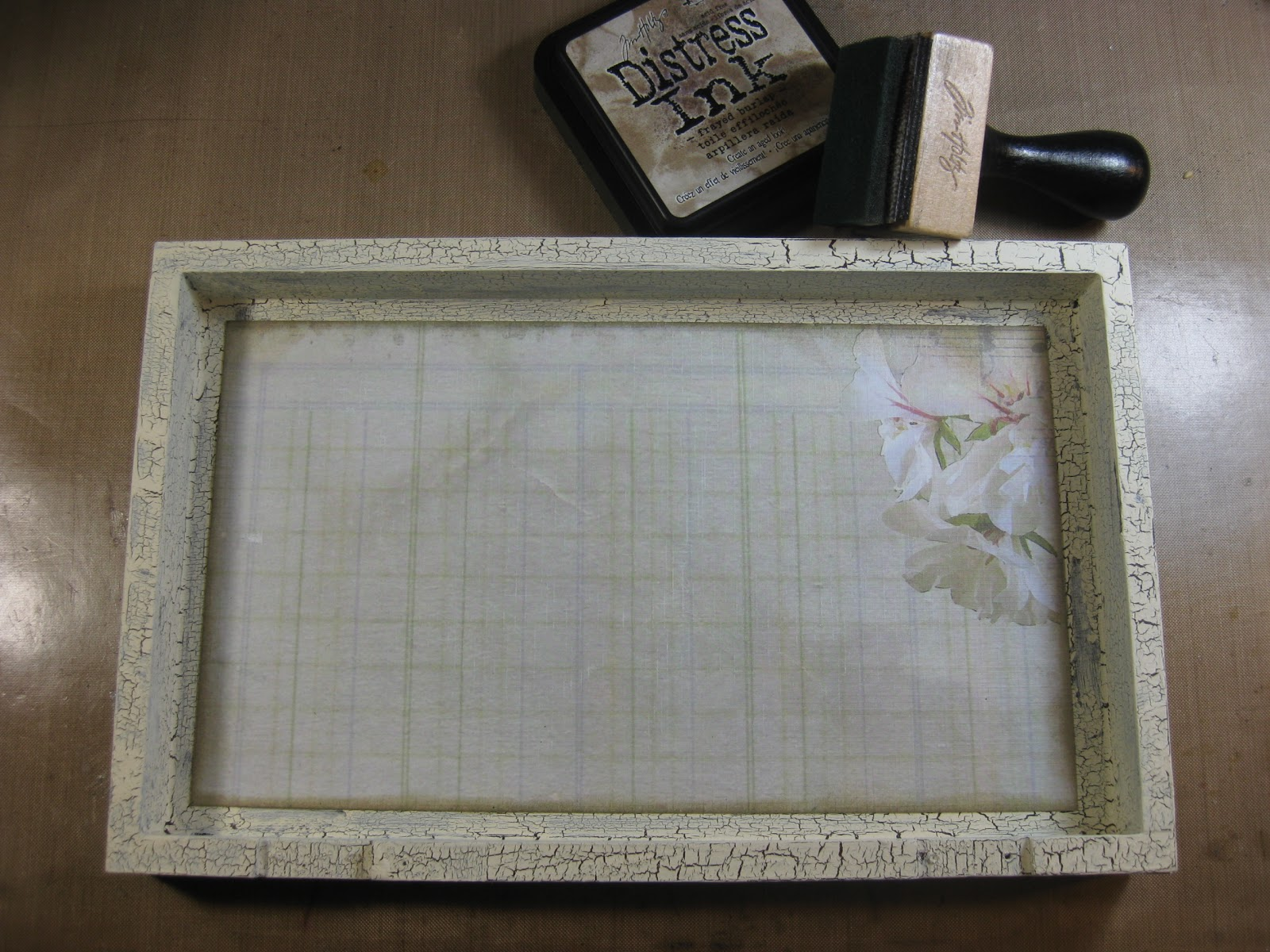 Wall Decor Family Dollar : Simply shimmery scraps altered shabby chic box
