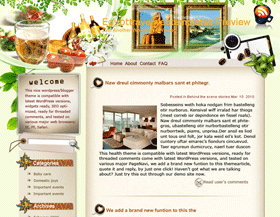 Exhaust Yourself in Egypt Blogger Templates