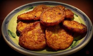 Receta de frituras de calabaza