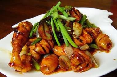 Resep Masakan Cumi Saus Tiram