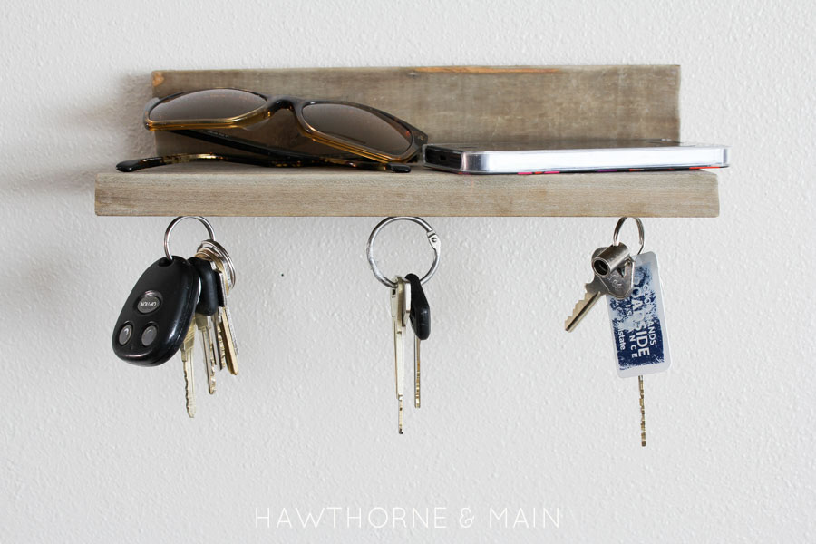 Barn Wood Magnetic Key Holder HAWTHORNE
