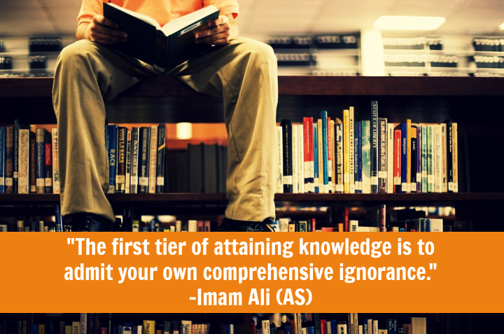The first tier of attaining knowledge is to admit your own comprehensive ignorance.