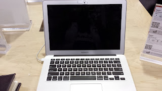 Macbook Air with Webcam Cover