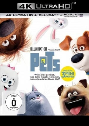 Filme Pets - A Vida Secreta dos Bichos - 4K Ultra HD 2016 Torrent