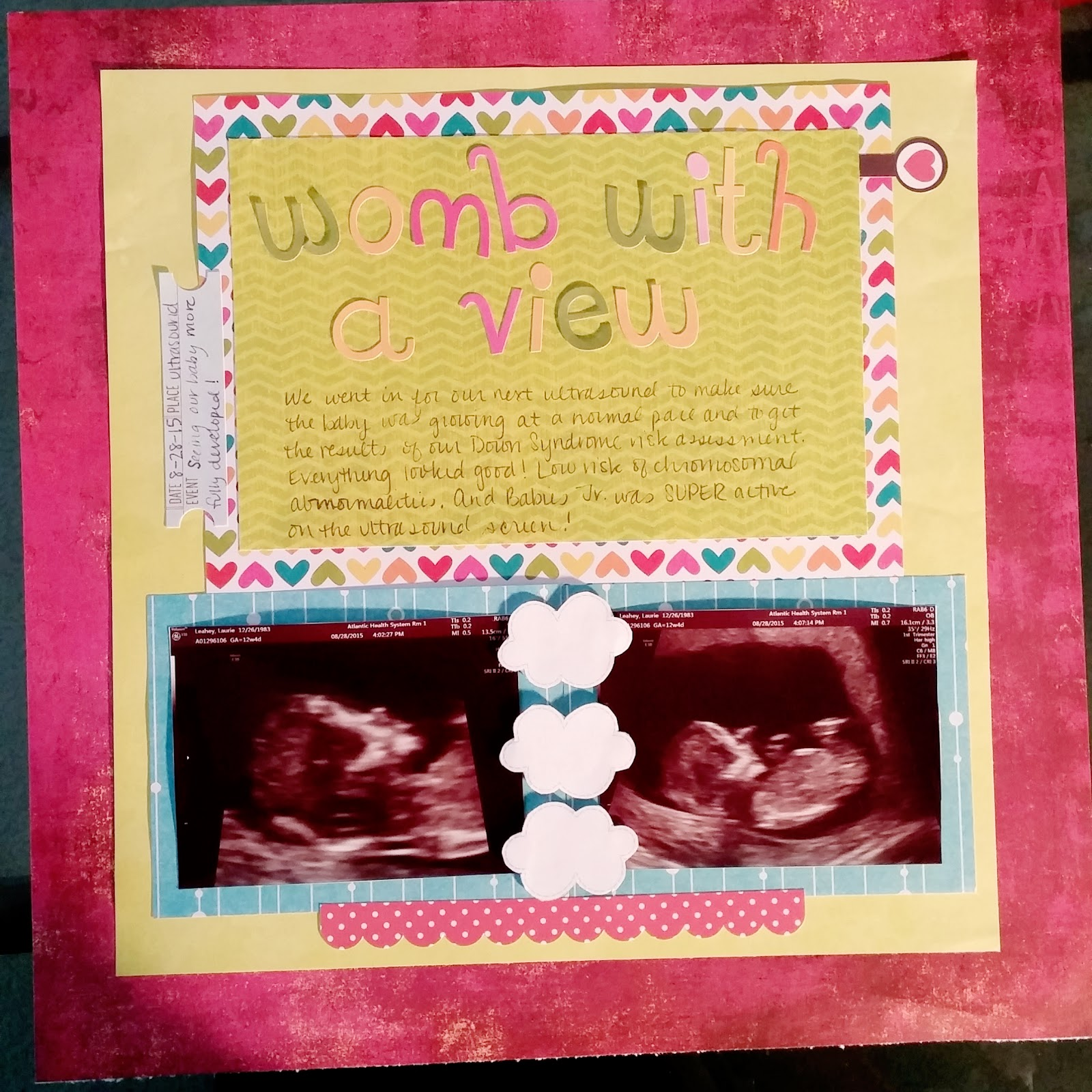 How to make scrapbook for baby