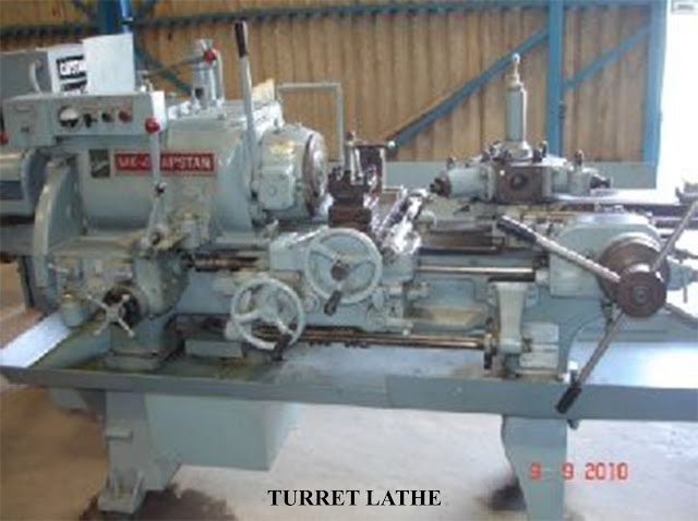 Turret and Capstan Lathe