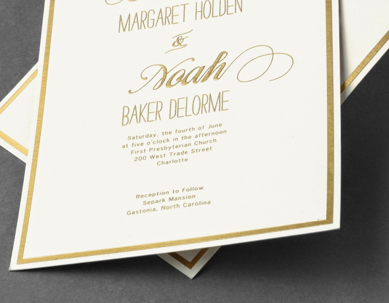 Oversized Is So On Trend Right Now, And We Thought The Wedding Invitation  Should Be No Exception. So Youu0027ll See Plenty Of Extra Large Card Sizes And  ...