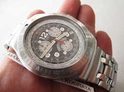 SOLD SWATCH IRONY CHRONOGRAPH - BIG SIZE CASE