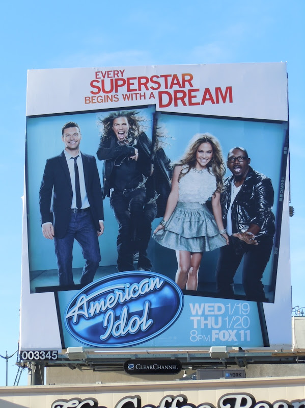 American Idol JLO billboard