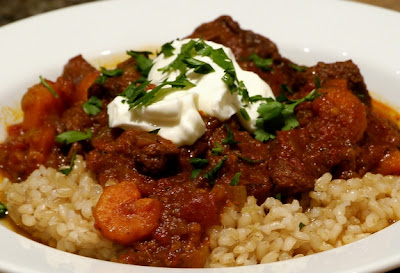 Noble Pig: Slow-Cooker Beef & Tomato Stew