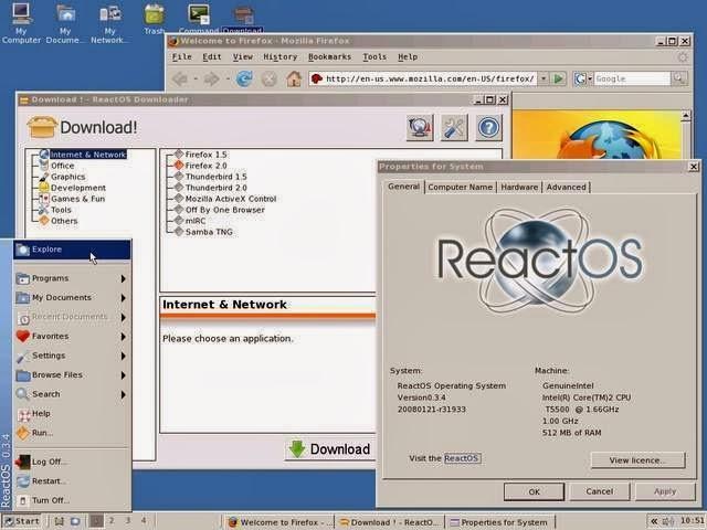 Cara Instal ReactOS