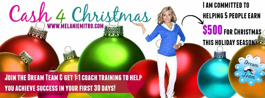 Melanie Mitro, top Coach, Beachbody Coach, Cash for Christmas