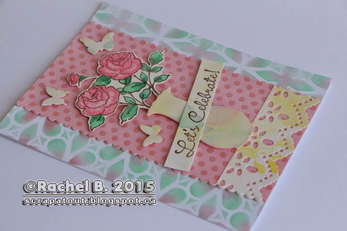 Handmade Card Celebration Impression Obsession IO Stamps