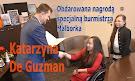 Obdarowana nagrodą specjalną burmistrza Malborka - Katarzyna De Guzman