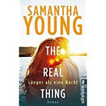 READING: The real thing Länger als eine Nacht von Samantha Young