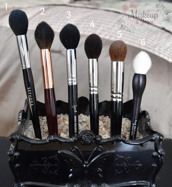 Pointed Tapered Contour Brushes Review