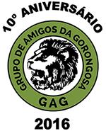 Logo do 10º ANIVERSÁRIO DO GAG