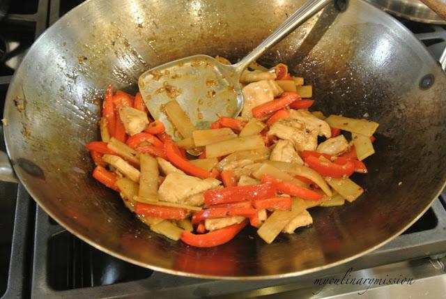 hoisin explosion chicken hoisin explosion chicken ginger and hoisin ...