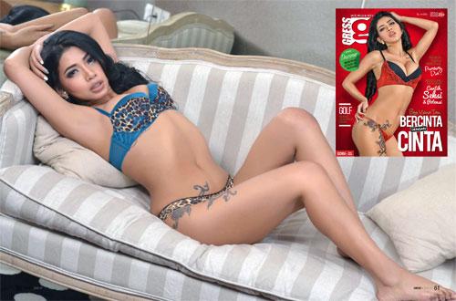 Bee Viona Tan - Gress Magazine Issue 21 2014 Indonesia | www.zone.downloadmajalah.com