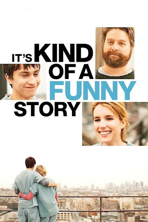 Poster Of It's Kind of a Funny Story In Dual Audio Hindi English 300MB Compressed Small Size Pc Movie Free Download Only At beyonddistance.com