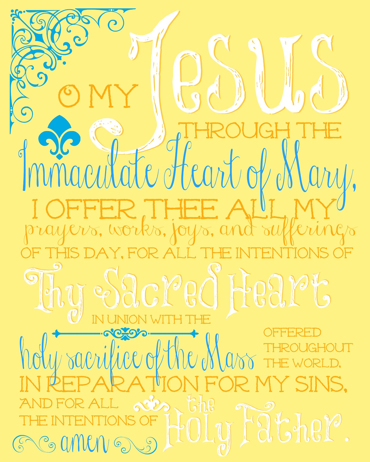 Catholic all year april 2014 the morning offering on yellow click here to download negle Choice Image