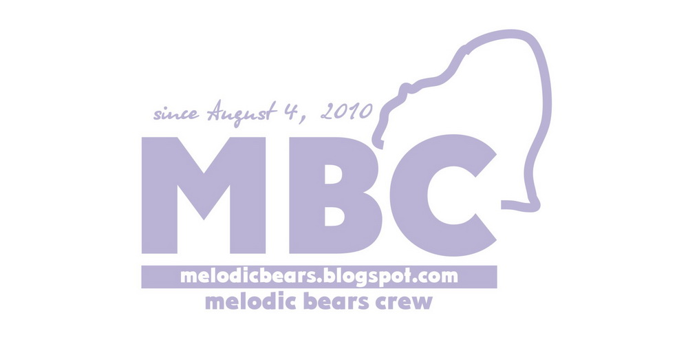 melodic bears crew. support local music.