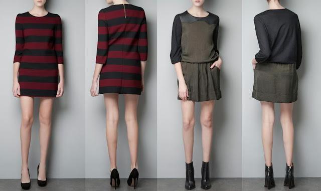 vestidos informales de moda zara