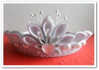 онлайн видеоурок Новогодняя корона своими руками