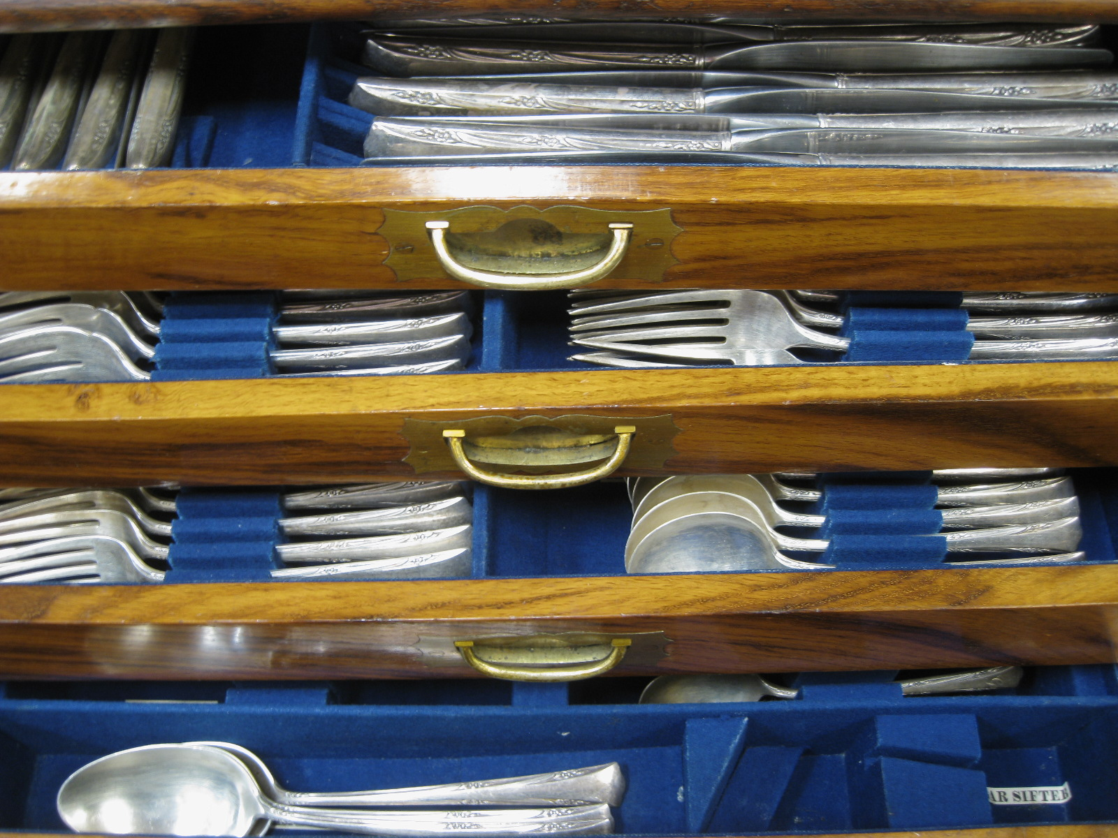 Charmant This Is An Amazing Sterling Silver Flatware ...