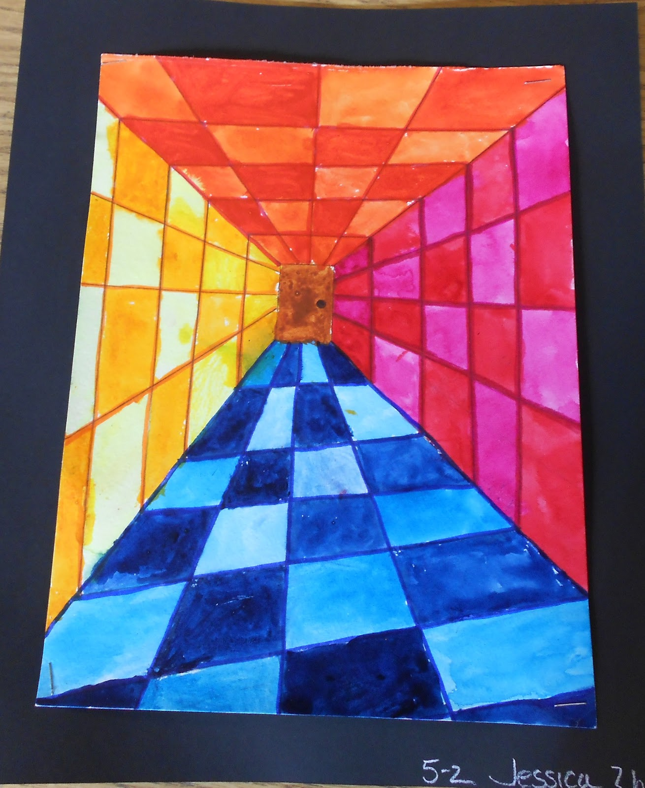 art is from the heart  op art 5th