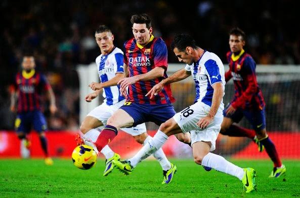 Derby Catalonia Espanyol vs Barcelona 2014