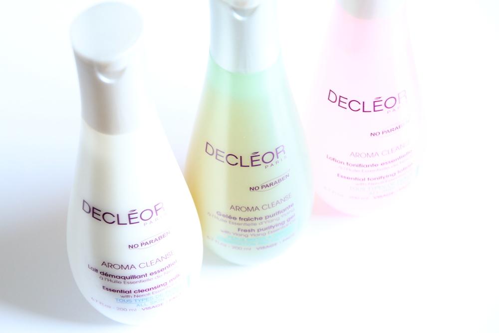 decleor aroma cleanse nettoyants démaquillant lait lotion gel avis test