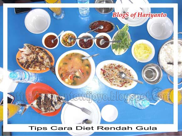 Tips Cara Diet Rendah Gula