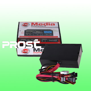 5.25 inch 2 Port USB 3.0 Media PC LCD Dashboard All-in-1 Card ReaderI006