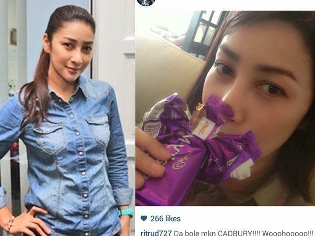 Rita Rudaini Akui Penggemar Cadbury, Percaya JAKIM!