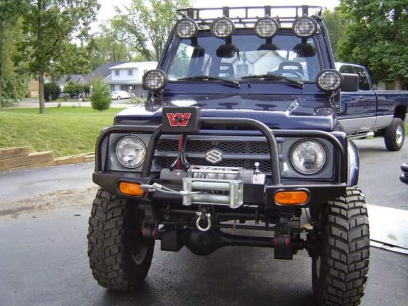 Modifikasi mobil katana ceper gx jimny long 4x4 offroad tahun 1988 1989 1990