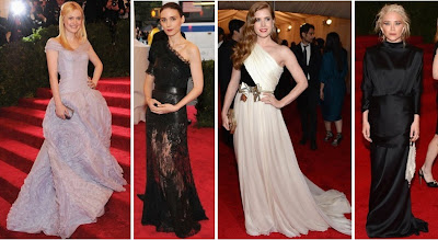 Met Ball 2012 Fanning Vuitton Mara Givenchy Valli Olsen