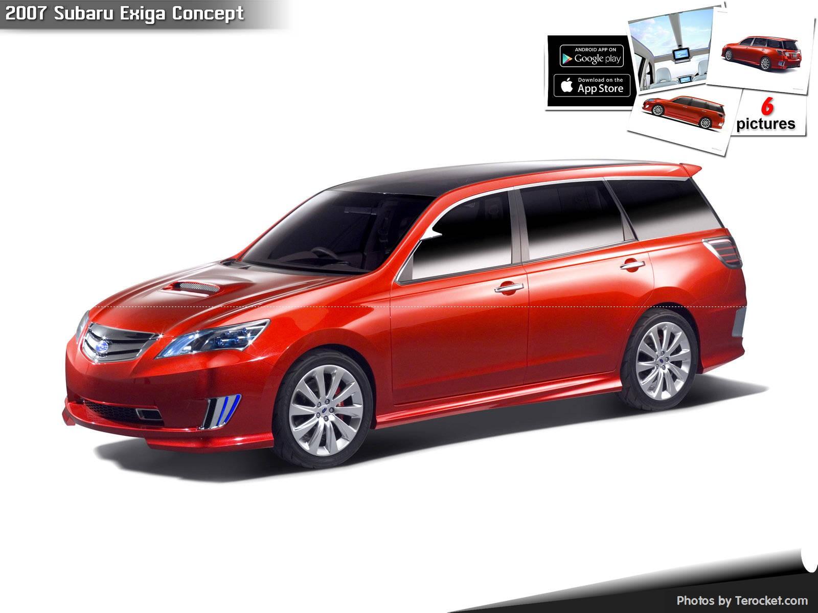 Hình ảnh xe ô tô Subaru Exiga Concept 2007 & nội ngoại thất