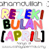 alhamdulillah rezeki bulan april [ no 2 ]