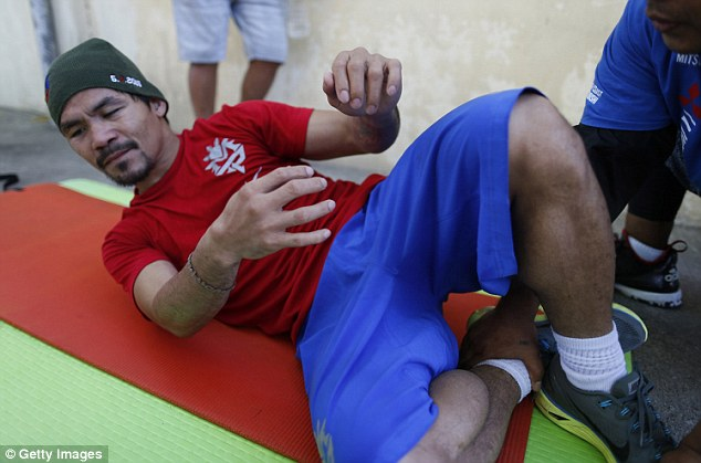 Pacquiao has insisted that clash at the MGM Grand will be his last as a professional