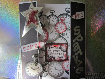 Visible Image stamps Time Sparkle Challenge Special Day