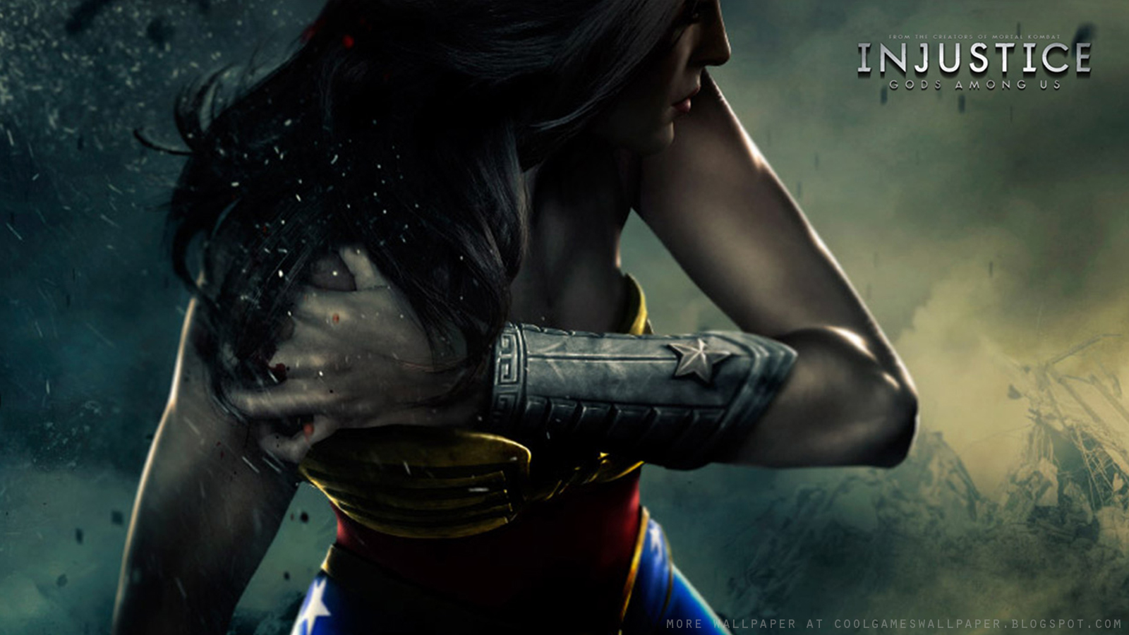 Injustice Gods Among Us Wonder Woman Wallpaper