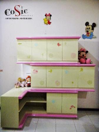 Desain Lemari Anak dan Fungsinya