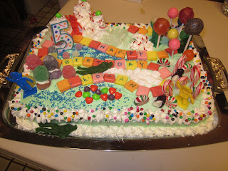 Candyland Cake for son's birthday