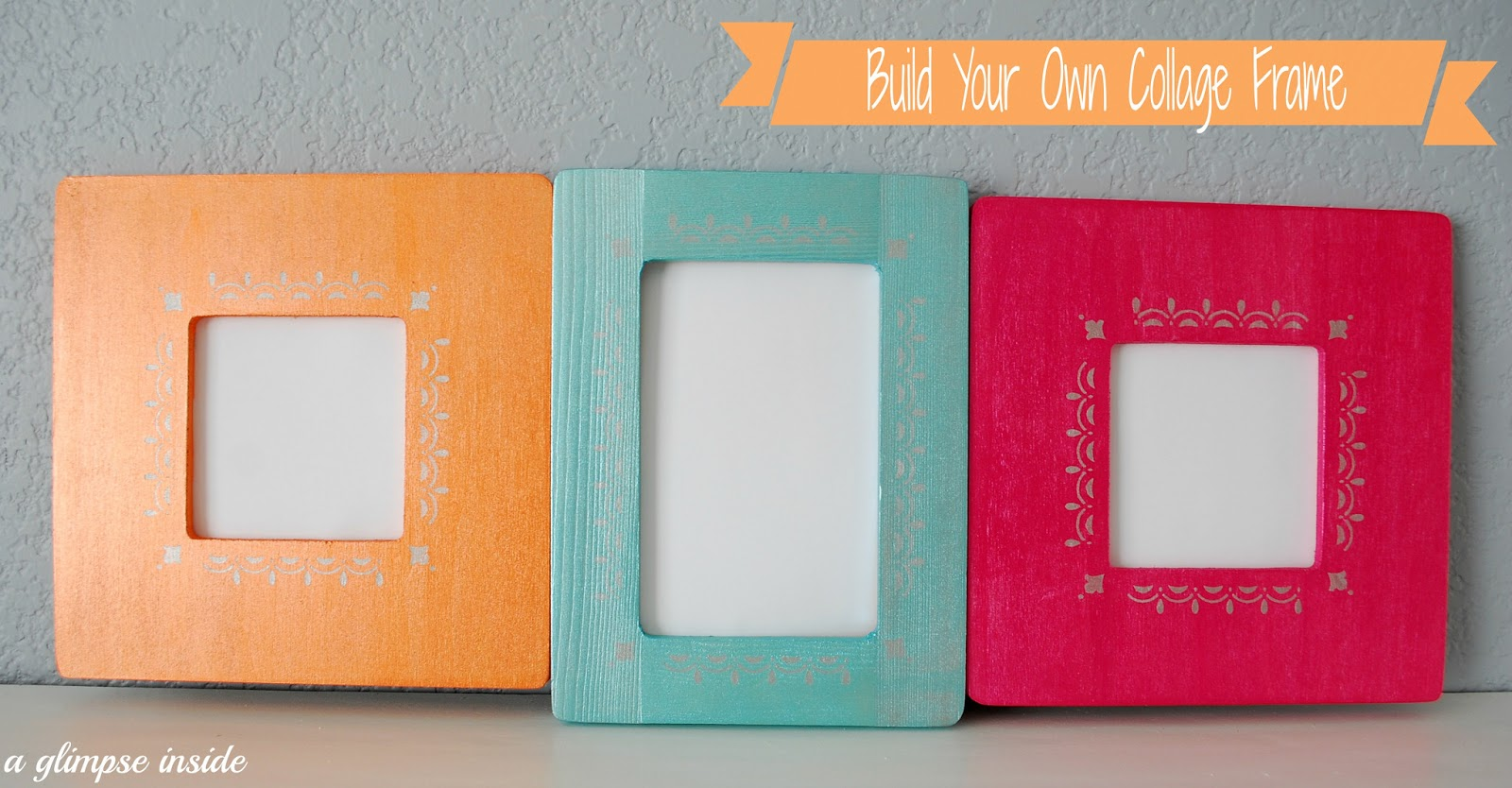 A glimpse inside build your own collage frame super easy build your own collage frame super easy jeuxipadfo Images