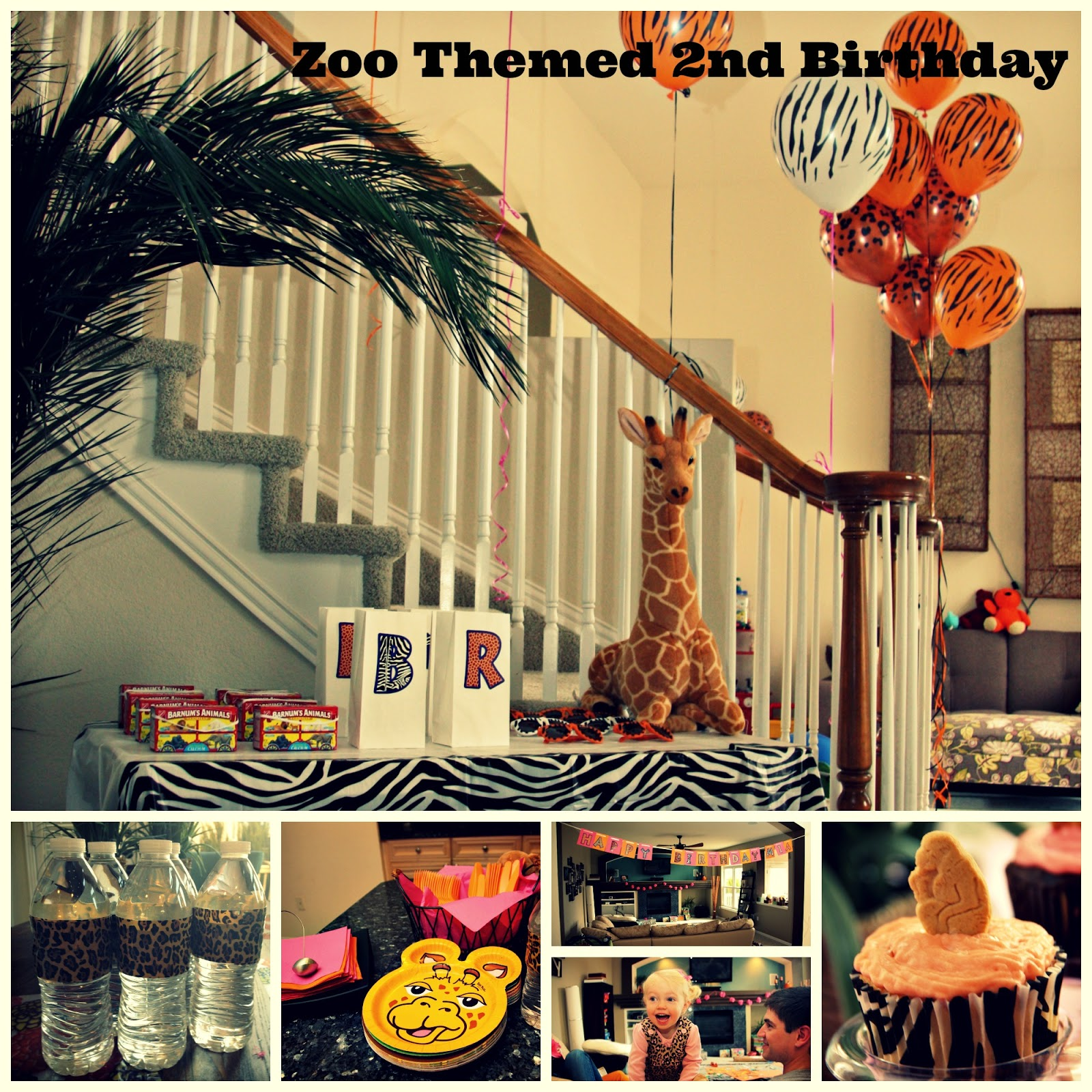 Keeping Up With The Joneses: A Zoo Themed 2nd Birthday