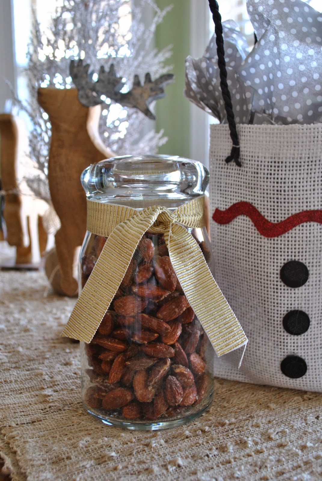 Cinnamon Sugar Almonds Teacher Gift Handmade Gifts