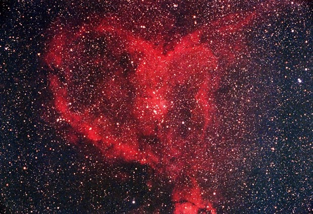 Valentine dari Antariksa: Nebula Hati