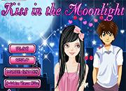 juegos de besos kiss in the moonlight