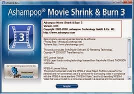 Free download Ashampoo Movie Shrink & Burn With Serial